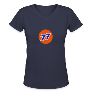 Women's T-Shirts ~ Women's V-Neck T-Shirt ~ Carter's 77 - Women's Bella