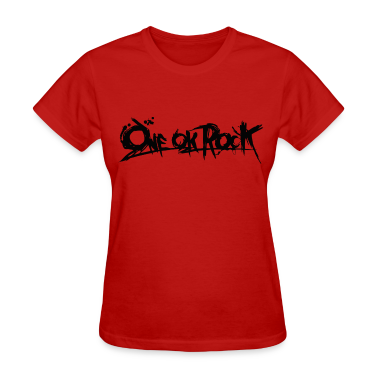 ONE OK ROCK BANNER (Black) Women's T-Shirts