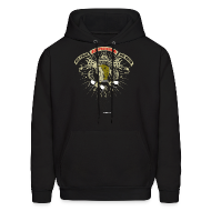 Hoodies ~ Men's Hooded Sweatshirt ~ Bodybuilding - No Pain No Gain