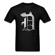 T-Shirts ~ Men's Standard Weight T-Shirt ~ Detroit D.