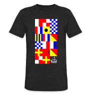 T-Shirts ~ Men's Tri-Blend Vintage T-Shirt ~ HH Flags