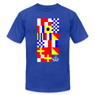 T-Shirts ~ Men's T-Shirt by American Apparel ~ HH Flags