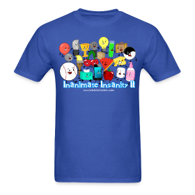 Inanimate Insanity II (Season 2) Full Cast Shirt *NEW* ~ 351
