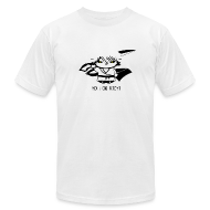 T-Shirts ~ Men's T-Shirt by American Apparel ~ Hollow Kitty