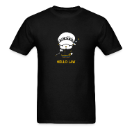 T-Shirts ~ Men's Standard Weight T-Shirt ~ Hello Law