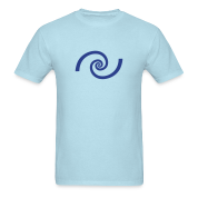 Golden spiral, Fibonacci, Phi, geometry, physics T-Shirts