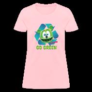 Women's T-Shirts ~ Women's T-Shirt ~ Gummibär Recycle Earth Day Women's T-Shirt