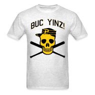 T-Shirts ~ Men's Standard Weight T-Shirt ~ Buc Yinz Tee