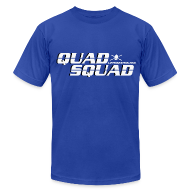 T-Shirts ~ Men's T-Shirt by American Apparel ~ Quad Squad