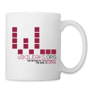 Bottles & Mugs ~ Coffee/Tea Mug ~ WikiLeaks Supporter -  Mug