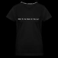 Women's T-Shirts ~ Women's V-Neck T-Shirt ~ Animals Text V-NECK (women)