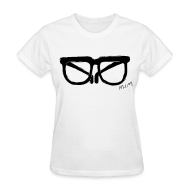 Women's T-Shirts ~ Women's T-Shirt ~ Animals Glasses T-shirt (Women)