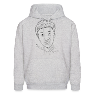 Hoodies ~ Men's Hooded Sweatshirt ~ Kwangsoo