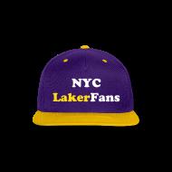 Caps ~ Snap-back Baseball Cap ~ NYC Laker Fans Flat brim hat