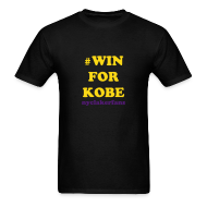 T-Shirts ~ Men's T-Shirt ~ #WIN for Kobe