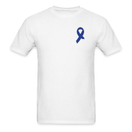 T-Shirts ~ Men's Standard Weight T-Shirt ~ Amputee Awareness - smaller footprint