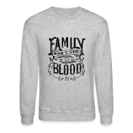 Long Sleeve Shirts ~ Men's Crewneck Sweatshirt ~ Family [DESIGN BY TINTIN]