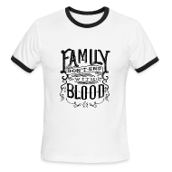 T-Shirts ~ Men's Ringer T-Shirt by American Apparel ~ Family [DESIGN BY TINTIN]