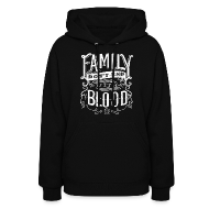 Hoodies ~ Women's Hooded Sweatshirt ~ Family [DESIGN BY TINTIN]