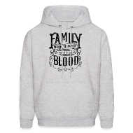 Hoodies ~ Men's Hooded Sweatshirt ~ Family [DESIGN BY TINTIN]