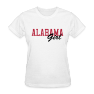 Women's T-Shirts ~ Women's Standard Weight T-Shirt ~ Alabama Girl
