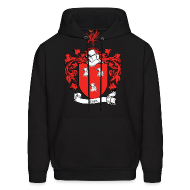 Hoodies ~ Men's Hooded Sweatshirt ~ Ryan Family Crest Sweatshirt