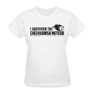 Women's T-Shirts ~ Women's Standard Weight T-Shirt ~ I Survived The Chelyabinsk Meteor Women's T-Shirt