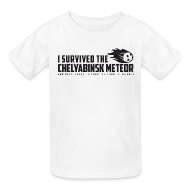 Kids' Shirts ~ Kids' T-Shirt ~ I Survived The Chelyabinsk Meteor Kid's T-Shirt