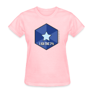 Women's T-Shirts ~ Women's Standard Weight T-Shirt ~ I Am the 2%
