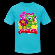 T-Shirts ~ Men's T-Shirt by American Apparel ~ Gummibär Flowers Men's T-