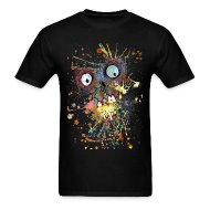 T-Shirts ~ Men's Standard Weight T-Shirt ~ shocked zombie mens