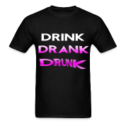 drink drank drunk purple T-Shirts