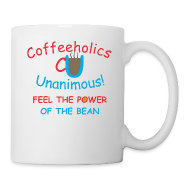 Bottles & Mugs ~ Coffee/Tea Mug ~ CU power of bean cup