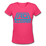 All Games Logo Blue (Womens)
