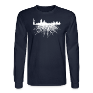 Long Sleeve Shirts ~ Men's Long Sleeve T-Shirt ~ NYC Roots