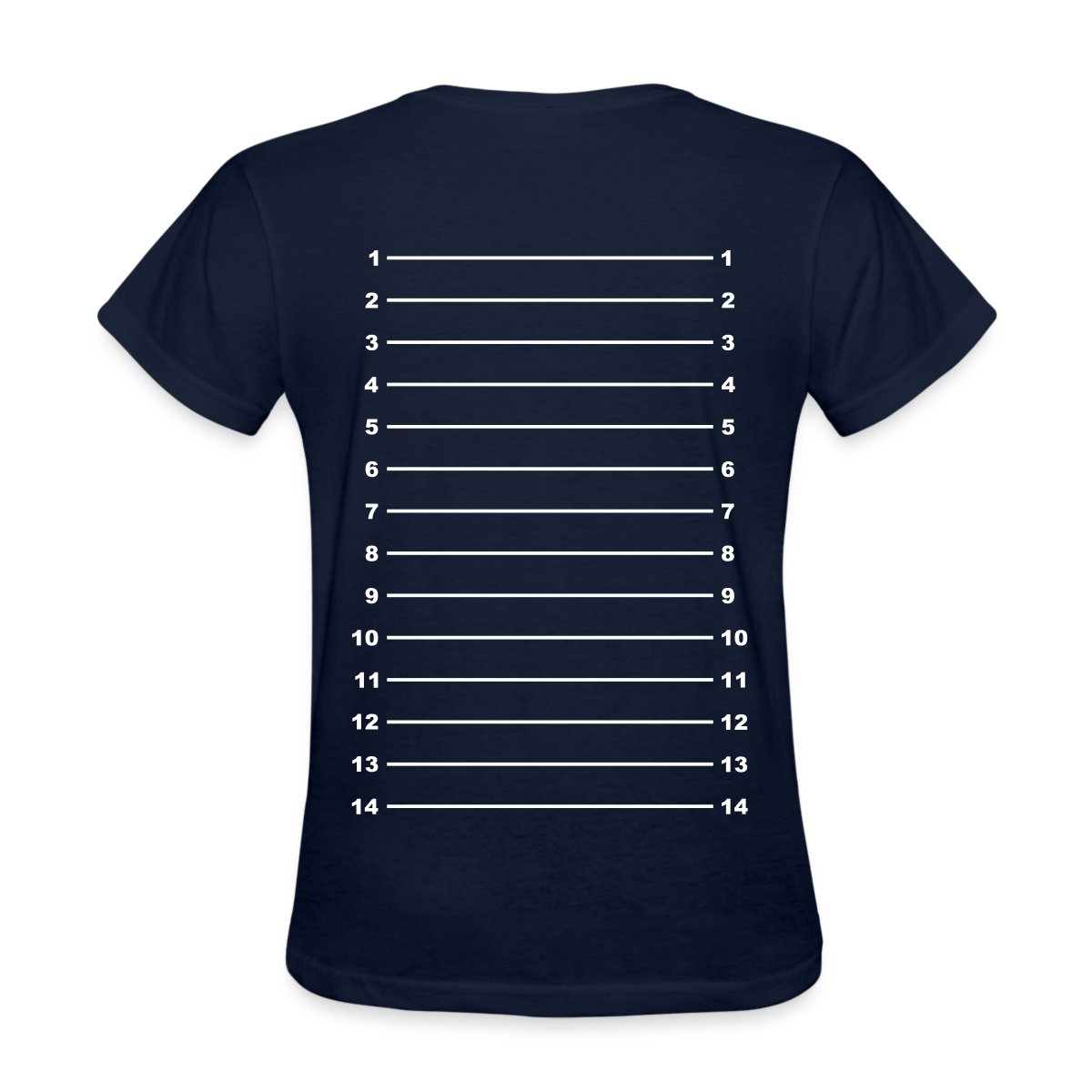 Hair Length Check Growth Chart Women's T-Shirt by ...
