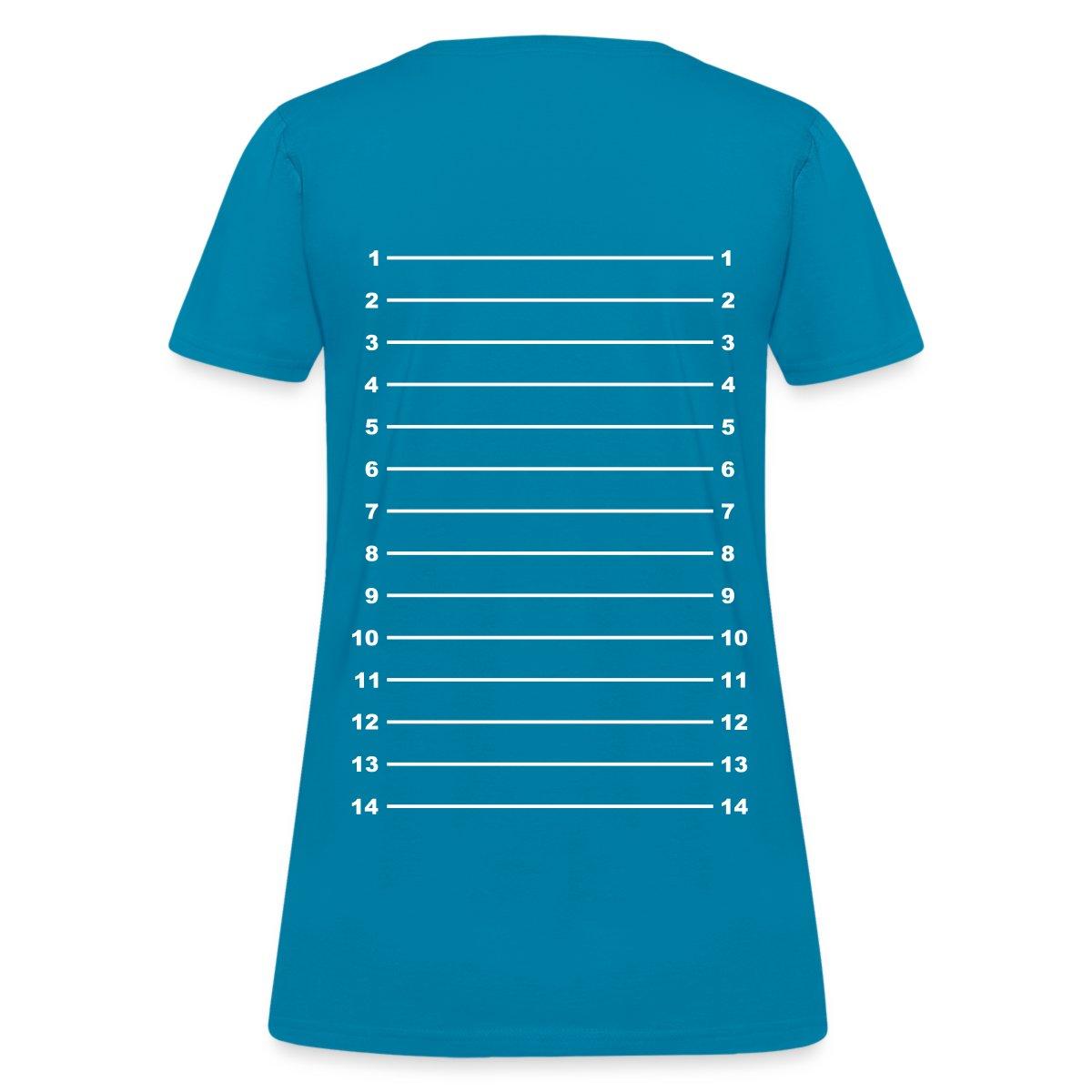Hair Length Check Growth Chart Women 39 S T Shirt By