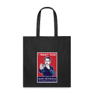 Bags & backpacks ~ Tote Bag ~ Edward Snowden - Whistleblower