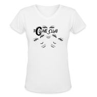 Women's T-Shirts ~ Women's V-Neck T-Shirt ~ The Clone Club
