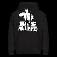 Hoodies ~ Men's Hooded Sweatshirt ~ He's Mine