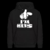 Hoodies ~ Men's Hooded Sweatshirt ~ Im her's