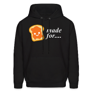 Hoodies ~ Men's Hooded Sweatshirt ~ Made for each other