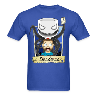 T-Shirts ~ Men's T-Shirt ~ Chilled is Slenderman (Light T-Shirt)