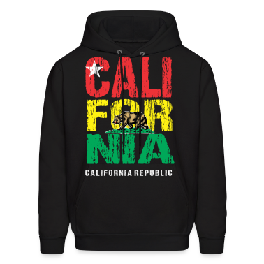 Tri Color California Hoodies