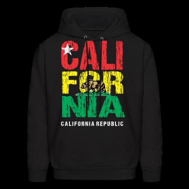Tri Color California Hoodies