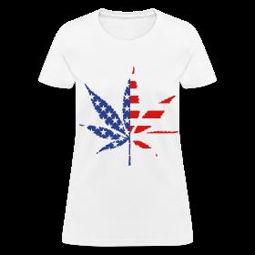 American Flag T-Shirt Women