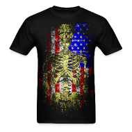 T-Shirts ~ Men's T-Shirt ~ American Death T-Shirt