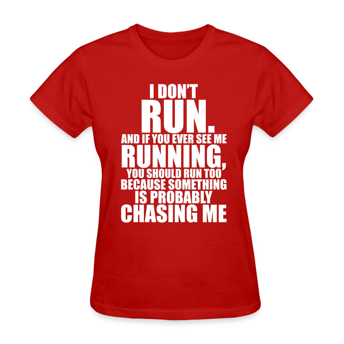 Running Funny Quote Women 39 S T Shirt Ebay