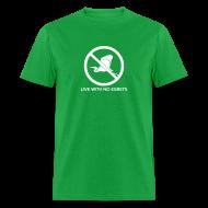 T-Shirts ~ Men's T-Shirt ~ No Egrets