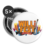 WILLiFEST Buttons